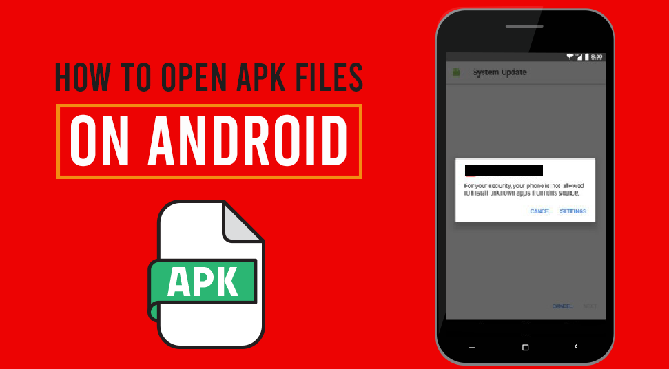 How to Open APK Files on Android